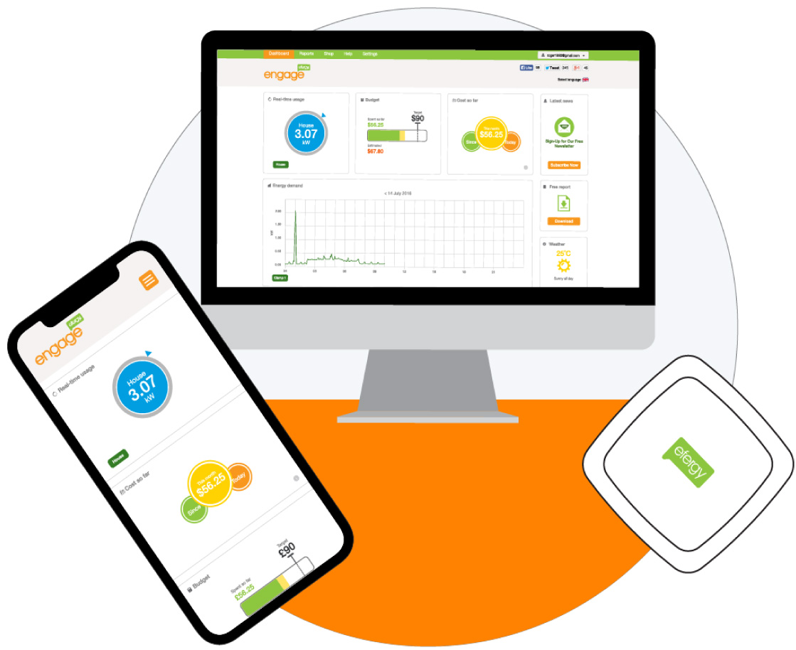 Efergy Home Energy Monitors: Electricity Usage Power Monitor